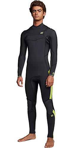 BILLABONG Mens Furnace Traje de Neopreno con Chest Zip Absolute 5/4mm - Lima - Capas térmicas térmicas y Calientes Capas Forro del Furnace Fácil