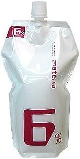 ルベル マテリア オキシ 1000ml 6% 【ヘアカラー2剤】【業務用】【医薬部外品】
