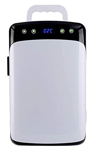 X&Z-XAOY Mini Refrigerador 12L con Función De Enfriamiento Y Calentamiento Nevera Pequeña Portátil Bebidas De Cerveza, Cuidado De La Piel, para Dormitorio, Oficina, Dormitorio