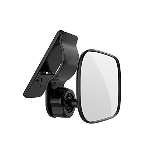 Miroir de Voiture de Bébé pour Pare-Soleil, MoreChioce 360 ° Réglable Clair Voiture Bébé Miroir Incassable Miroir de Siège Arrière vue Large Rétroviseur Accessoires pour Enfants Enfant Nourrisson
