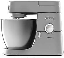 Kenwood Chef XL KVL4100S robot kuchenny z dużą miską do mieszania ze stali szlachetnej 6,7 l, 1200 W, w zestawie...