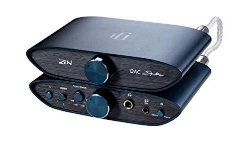 Paquete iFi Zen Signature - DAC y Amplificador y preamplificador de Auriculares de Escritorio equilibrados con Salidas de 4,4 mm - Incluye Cable de 4,4 mm a 4,4 mm