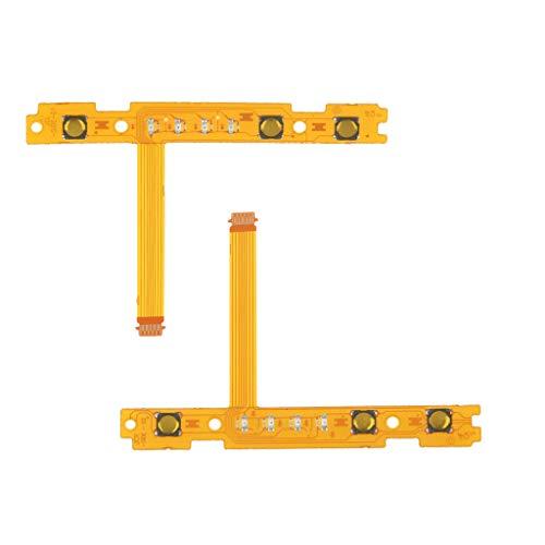 SDENSHI 2X 53mm Cable Flexible de Botón SL/SR de Plástico, Arregle el Botón Flex/Par Pair de Joy-con SL Botón Izquierdo y Derecho