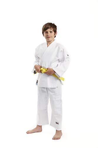 Ippon Gear Future Kimono Judo Unisex-Youth, Blanc, 140