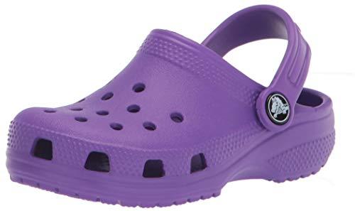 Crocs Classic Clog K, Sabots Mixte Enfant, Black, 37/38 EU