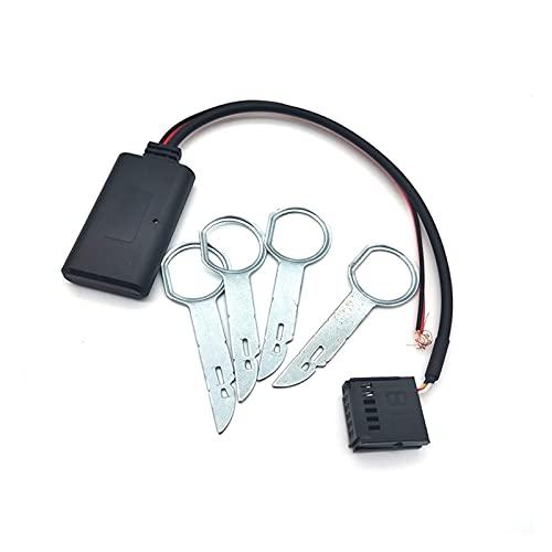 shiqi Adaptador de Audio inalámbrico del módulo de Bluetooth de Radio Bluetooth del automóvil con Ajuste de la Herramienta para Ford Focus Mondeo 6000 CD