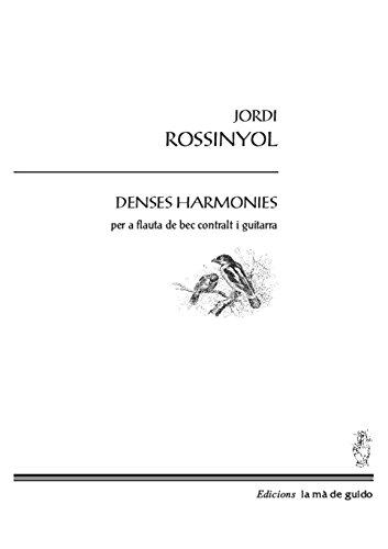 Denses Harmonies: per a flauta de vec contralt i guitarra