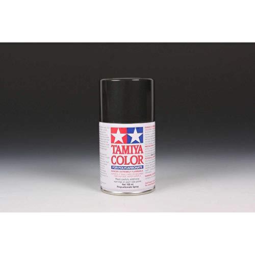 Tamiya America, Inc Polycarbonate PS-23 Gun Metal, Spray 100 ml, TAM86023