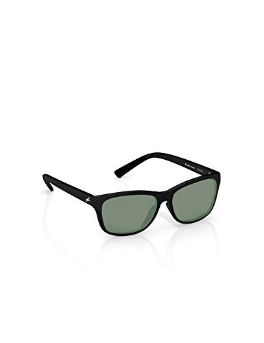 Fastrack UV protected Square Men's Sunglasses (P357BK1|41...