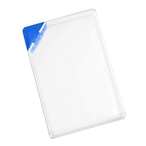 MKLEUTPS Wasserflasche Clear Book Tragbares Papierkissen Wasserflasche Flache Getränke Wasserkocher