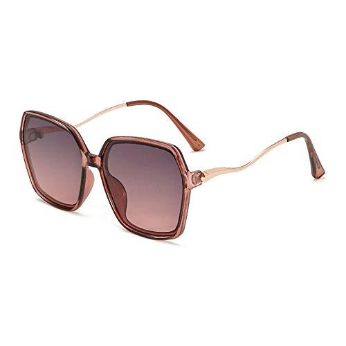 HPPSLT Gafas de Sol Polarizadas Clásico Retro para UV400 Protection, Gafas de Sol Anti-UV Personalizadas Gafas de Sol de Montura Grande-2