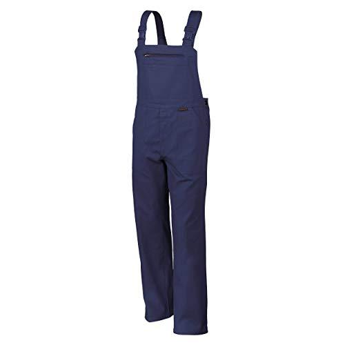 Qualitex Arbeits-Latzhose BW 270 - Größe: 64 - hydronblau