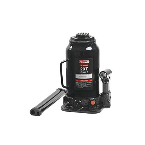 KS Tools 160.0358 Hydraulischer Flaschenwagenheber, 20 t