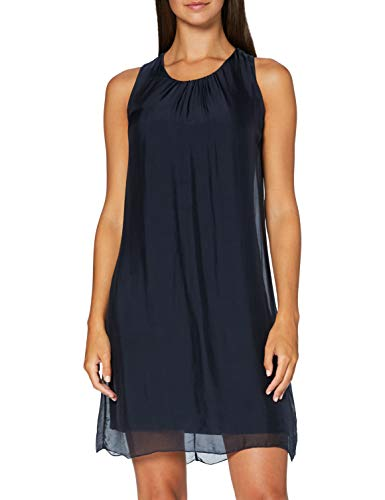 Cartoon Damen 1106/7684 Lässiges Kleid, Dark Navy, 38