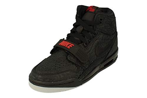 Nike Air Jordan Legacy 312 Big Kids' Sho - black/black-varsity red, Größe:5.5Y