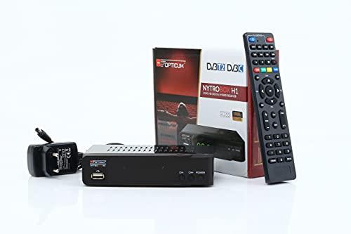 NYTROBOX H1 - Hybrid-Receiver HD-TV I...