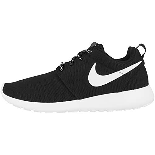 Nike Womens Roshe One Running Shoes (9 B(M) US)(Black/White/Dark Grey)