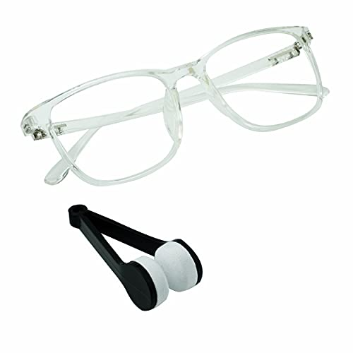 Blue Light Blocking Glasses 1 pack Square Computer Glasses Women/Men, Nerd Reading Gaming Glasses Non Prescription