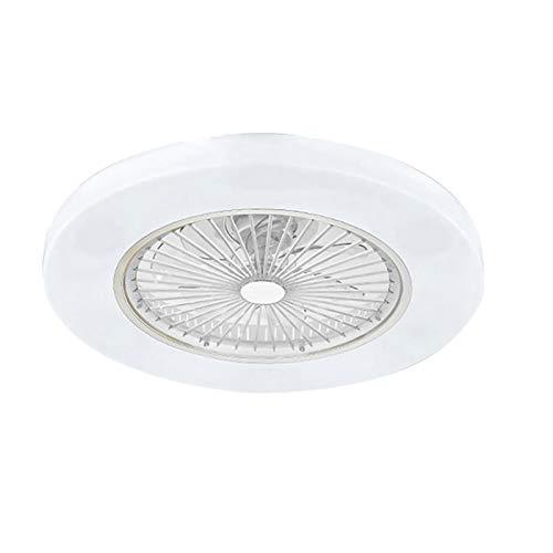 Ventilatore a soffitto con Lampada, luci a LED con illuminazione dimmerabile con telecomando Lampada a soffitto moderna silenziosa 72W LED Lampada a soffitto plafoniere per Soggiorno Camera da Letto