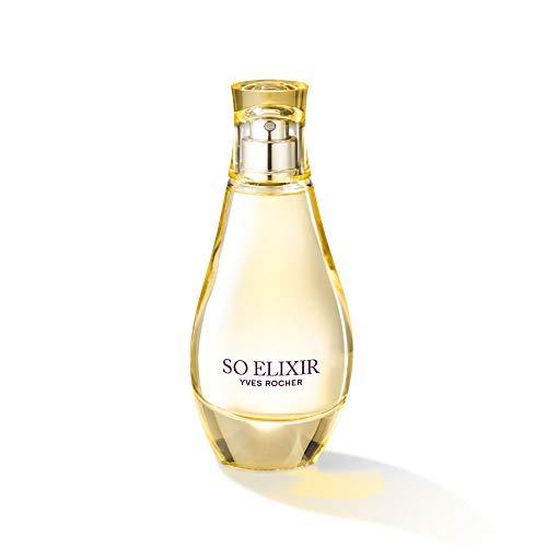 Yves Rocher - SO ELIXIR Eau de Parfum, blumiger Damen-Duft, Valentinstag Geschenkidee für Frauen, 1 x Zerstäuber 50 ml