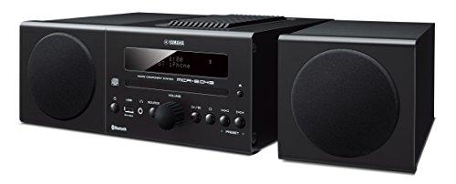 Yamaha Audio MCR-B043BL Desktop Audio System, Black