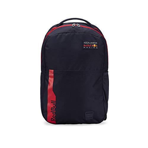 Red Bull Racing Official Teamline Rucksack, Blau Unisex One Size Backpack, Red Bull Racing Aston Martin Formula 1 Team Original Bekleidung & Merchandise
