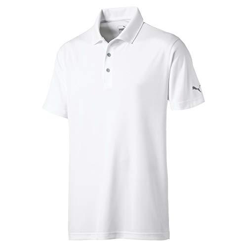 PUMA Herren Rotation Polo Shirt, Bright White, XL