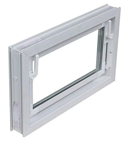 Kellerfenster weiss 60 x 30 cm Isolierverglasung