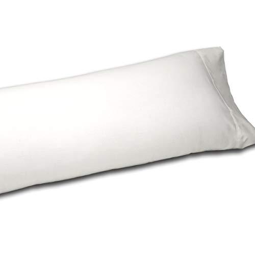 Sedalinne Sábanas HOTELES - Funda Almohada algodón de percal de 200 Hilos. Medida: 45x125 cm