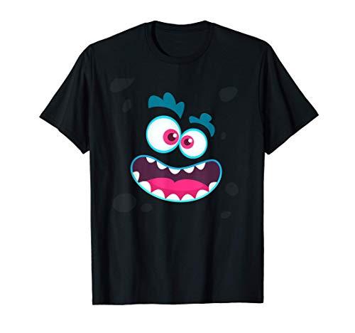Regalo lindo del traje de Halloween de la emocin de la cara Camiseta