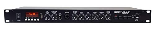 Amazing Deal Rockville PPA50 Preamp Pro 1U Pre-Amplifier w/Bluetooth/USB/Computer Interface