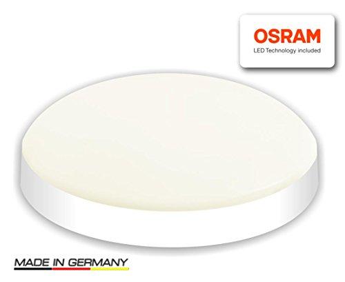 Visolight D280 LED Wand- Deckenleuchte - TÜV GS geprüft - 1900lm warmweiß LED Lampe