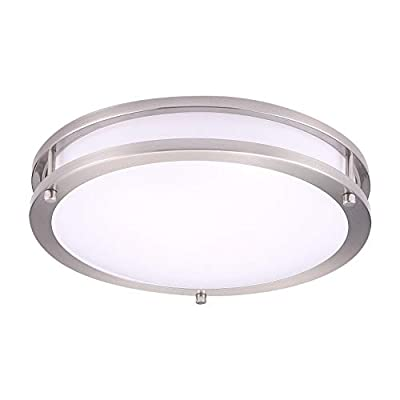 OSTWIN Flush Mount Double Ring 20W