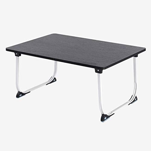 Eenvoudig en gratis te installeren klapraam bureau slaapkamer laptop schrijftafel luier bureau mobiel provincie ruimte bed tafel slaapzaal kleine tafel (kleur: bruin) 3 3