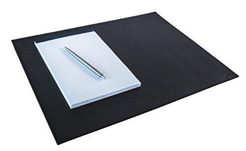 Durable 730401 Schreibunterlage Leder (für Konferenzräume, 420 x 300 mm) 1 Stück, schwarz