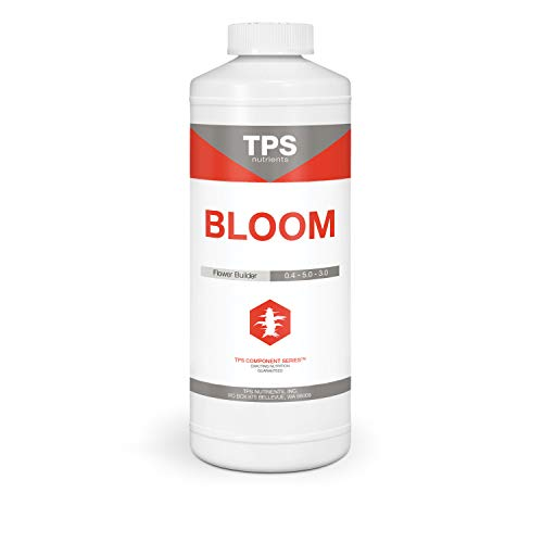 Bloom Bud Builder & Flower Hardener Plant Nutrient and Supplement, Triggers Fast Flowering by TPS Nutrients, 1 Quart (32 oz)