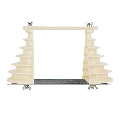 Bobina de alambre bobinado del molde titular, máquina eléctrica de plástico monofásico 6 capas Bobina de alambre bobina molde beige