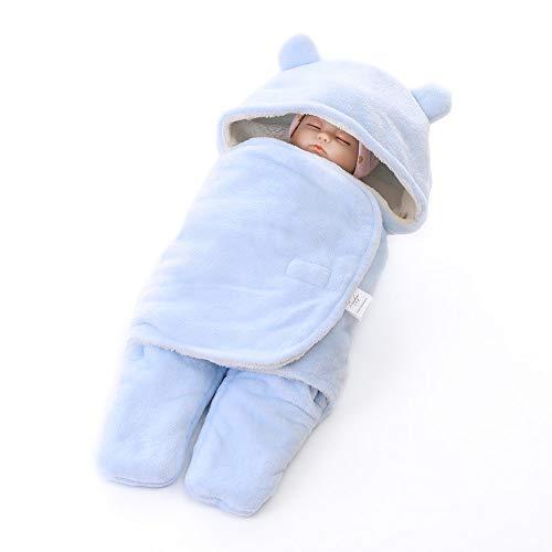 Coperta universale per ovetto, passeggino o lettino, unisex bambino disegno pigiama tuta da ragazzo cotone ragazza pigiami pigiama per Primavera & Inverno colore a scelta (Blu, 30.7