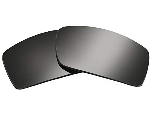 SeekOptics Replacement Polarized Lenses for Oakley Gascan Sunglasses-Black