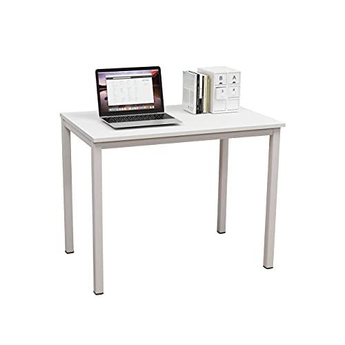 soges Escritorios 100x60cm Mesa de Ordenador Escritorio de Oficina Mesa de Estudio Puesto de Trabajo Mesa de Despacho, GCP2AC3-100WW