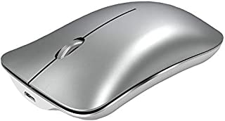 فأرة بلوتوث لاسلكية للكمبيوتر المحمول، فأرة كمبيوتر صامتة قابلة لإعادة الشحن Lersyco مزودة بثلاث أوضاع (BT5.0، BT3.0، USB ...