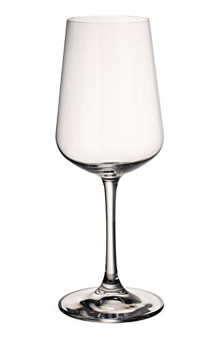 Villeroy & Boch 11-7209-8120 Copa de Vino Blanco de 380 ml, Cristal, 8 cm, 4 Unidades