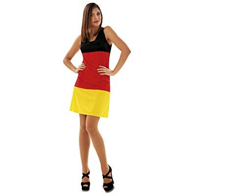 Viving Costumes Disfraz Mujer L Bandera Alemana