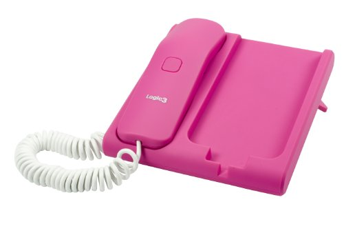 Logic3 PhoneStation für Smartphones, pink