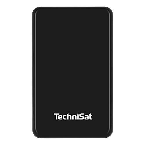 TechniSat STREAMSTORE HDD 1 TB USB 3.1 - Externe Festplatte (1000 GB, 2.5 Zoll, USB 3.1, 5 Gbit/s, USB-Anschluss), schwarz