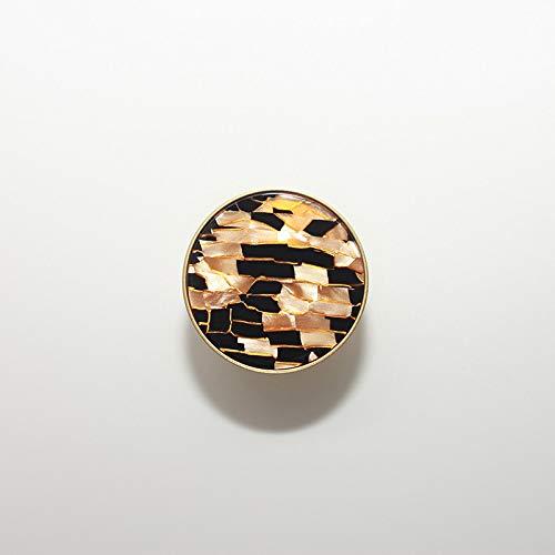 Gu3Je Modern Minimalist Pure Copper Wardrobe Cupboard Drawer Nordic Cabinet Coat Hook Brass Shell Gold Handle Hook Up Rose Gold Black Plaid 4.2