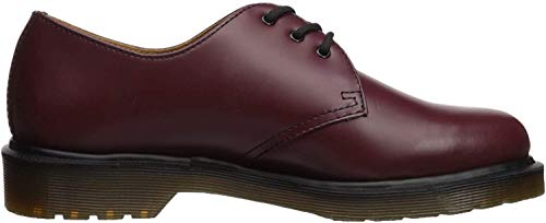 Dr. Martens 1461 Scarpe basse stringate, Unisex, Adulto, Rosso (Cherry Red), 36