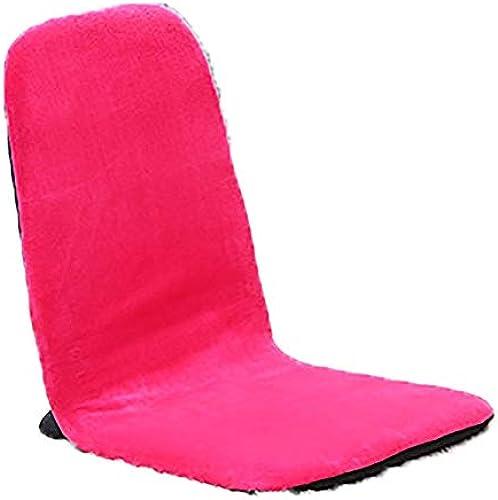 FANG1106 Justierbarer Faltbarer Boden-Stuhl bequemes Innenministerium-Meditation-lesendes Fernsehen, das Spiel aufpasst Bodenkissen Sessel Sofa (Farbe   Rosa, Größe   38  88  8cm)