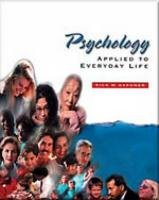 Psychology Applied to Everyday Life (PSY 103 Towards Self-Understanding)