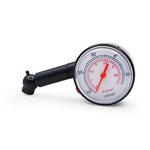 Calibrador de presión de neumáticos de neumático para automóvil para automóvil automóvil camión de motocicleta medidor de dial del vehículo Tester Tester Presión herramienta de medición de neumáticos